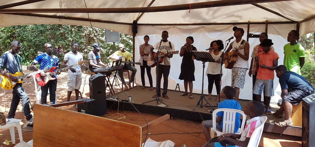 Jinja Town Church Worship Team Practice in full swing
